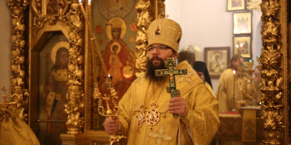 В годовщину архиерейской хиротонии архиепископ Егорьевский Матфей совершил Литургию в усадьбе Свиблово