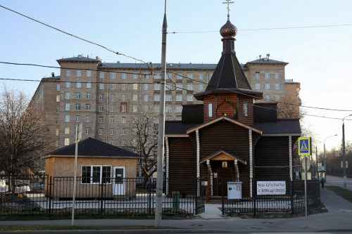 Архиепископ Егорьевский Матфей совершил объезд строящихся храмов