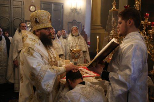 Управляющий Северо-Восточным викариатством возглавил Литургию в храме Тихвинской иконы Божией Матери в Алексеевском