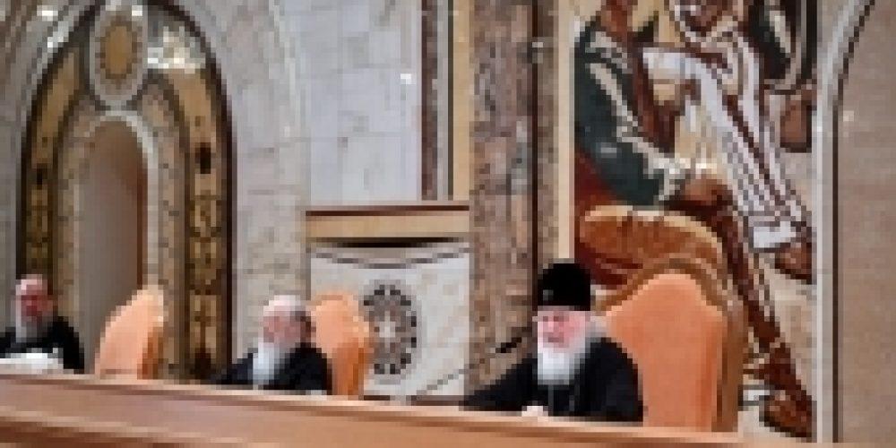 Завершил работу пленум Межсоборного присутствия Русской Православной Церкви