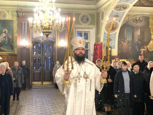 Архиепископ Егорьевский Матфей совершил Божественную литургию в храме иконы Божией Матери «Нечаянная Радость» в Марьиной роще г. Москвы