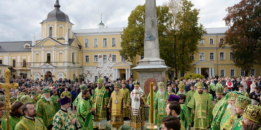 Божественная литургия в день преставления преподобного Сергия, игумена Радонежского