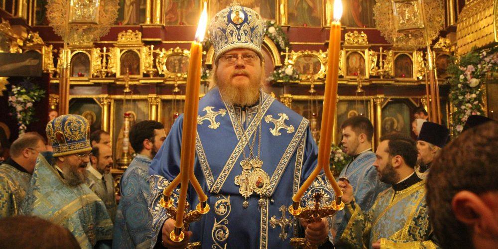Престольный праздник в храме Покрова Пресвятой Богородицы в Медведкове