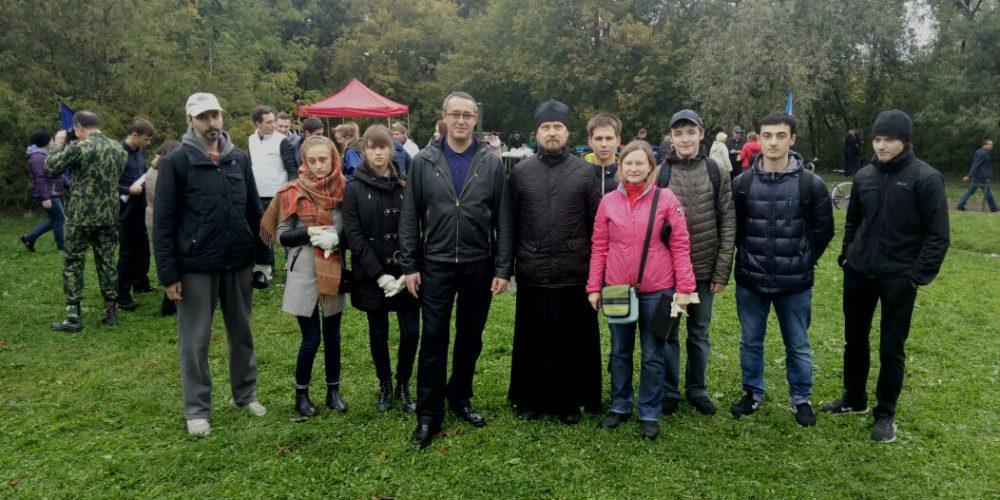Экологическая акция: «День единых действий – сохраним чистоту Московских рек!»