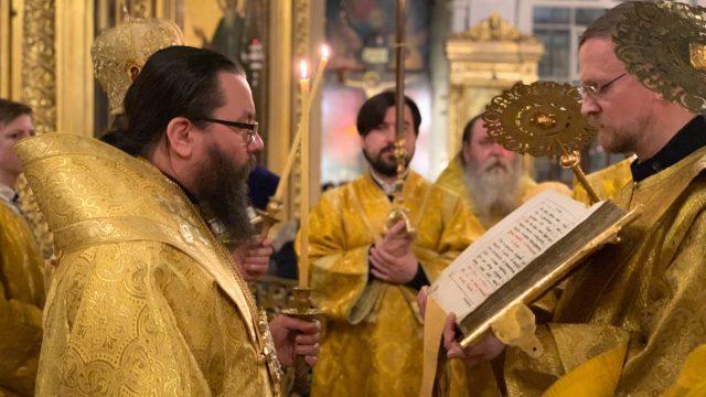 В Богоявленском кафедральном соборе прошли торжества по случаю дня памяти святителя Алексия Московского