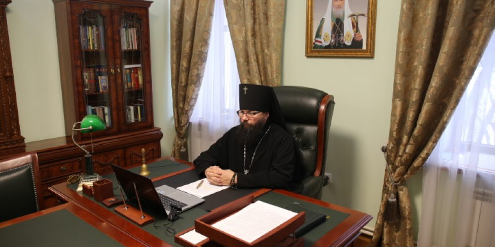 Архиепископ Егорьевский Матфей принял участие в Епархиальном собрании г. Москвы