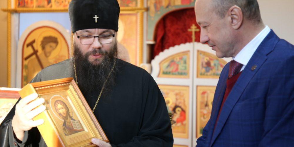 Архиепископ Егорьевский Матфей посетил Институт славянской культуры «РГУ им. А.Н. Косыгина»