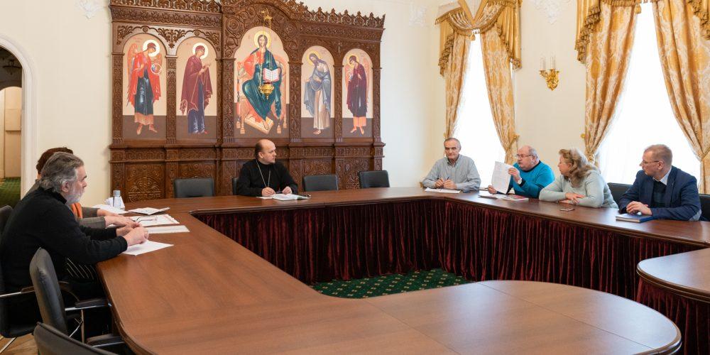 Состоялось совещание по строительству храма в Ростокине