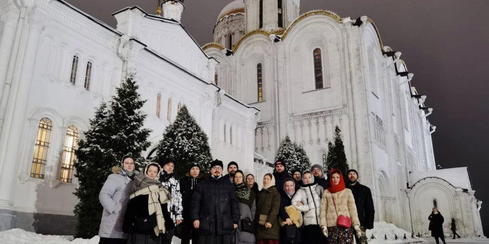 Молодёжь Северо-Восточного викариатства совершила паломничество по святыням Мурома, Арзамаса, Дивеева, Владимира