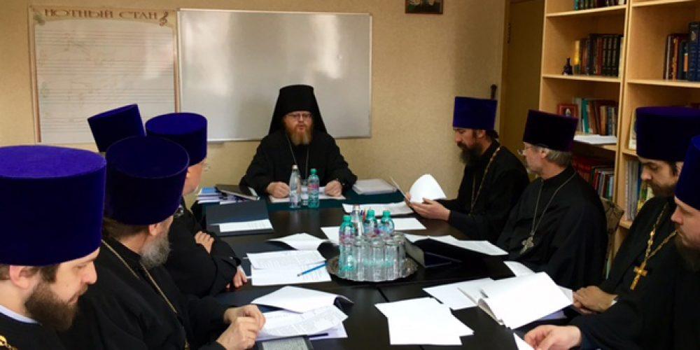 Прошло заседание Совета Северо-Восточного Московского викариатства