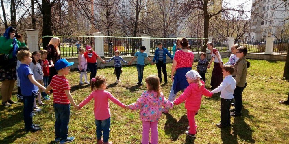 Детский праздник в Раево