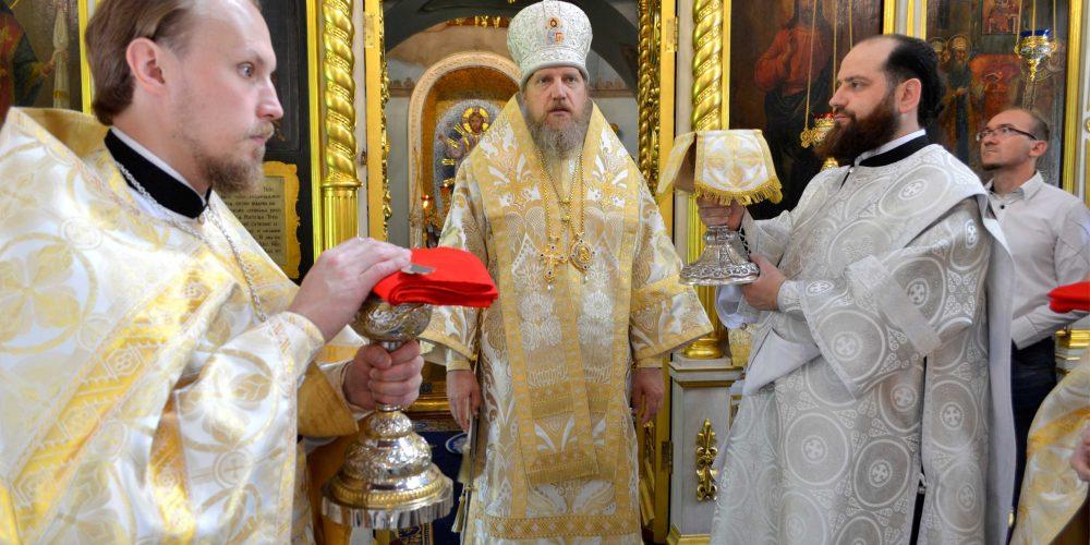 Божественная литургия в праздник Рождества Пророка, Предтечи и Крестителя Господня Иоанна