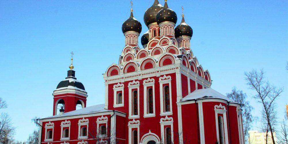 Богослужение накануне престольного праздника в Алексеевском
