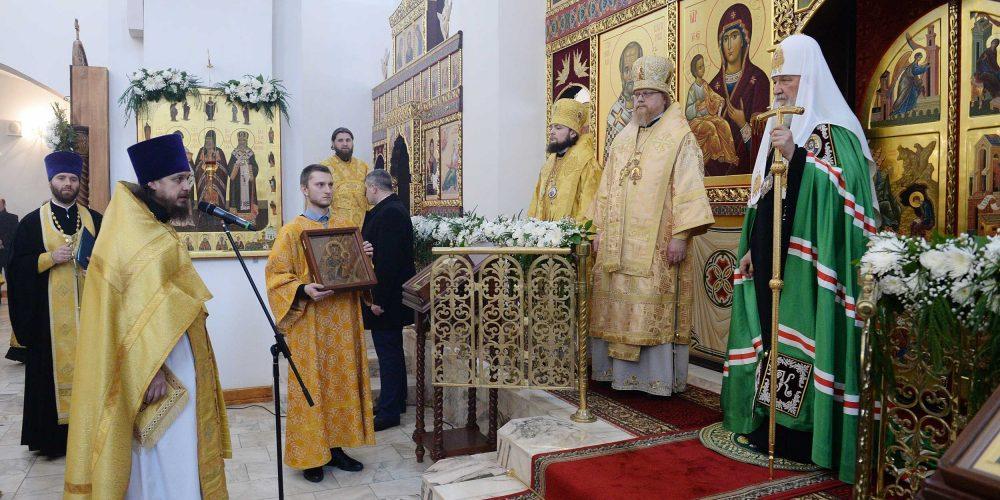 Совершен чин великого освящения храма Торжества Православия в Алтуфьеве
