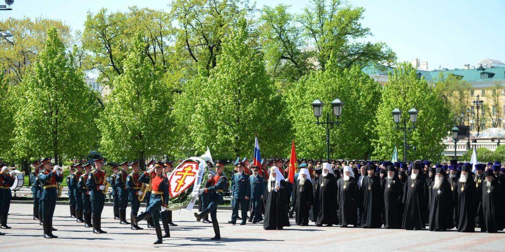 Канун 73-й годовщины Победы в Великой Отечественной войне