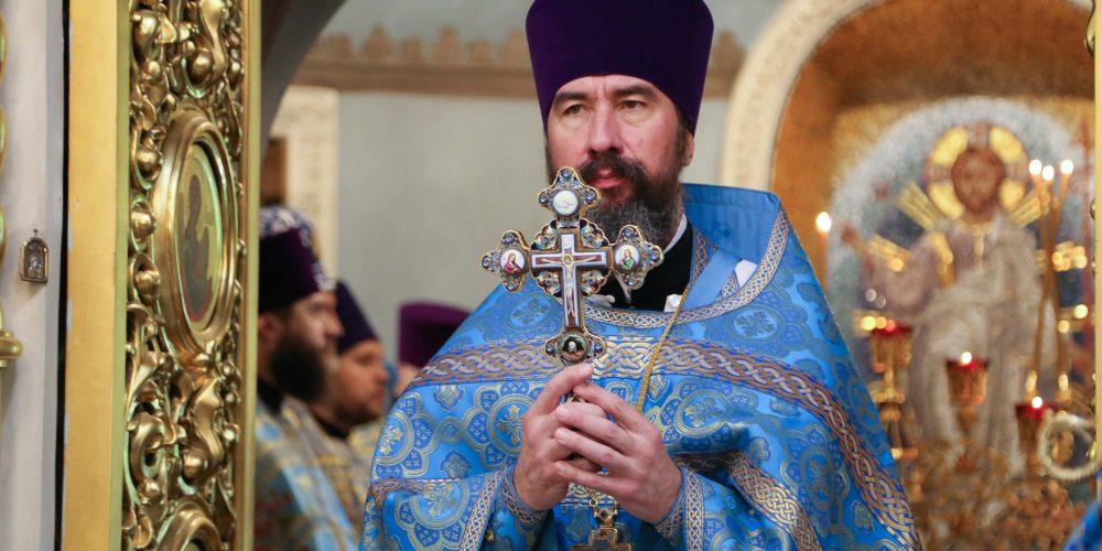 Проповедь протоиерея Георгия Климова в Неделю 5-ю Великого поста. Преподобной Марии Египетской