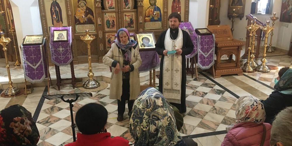 В храме святого благоверного великого князя Димитрия Донского в Раеве состоялось соборование людей с нарушением слуха