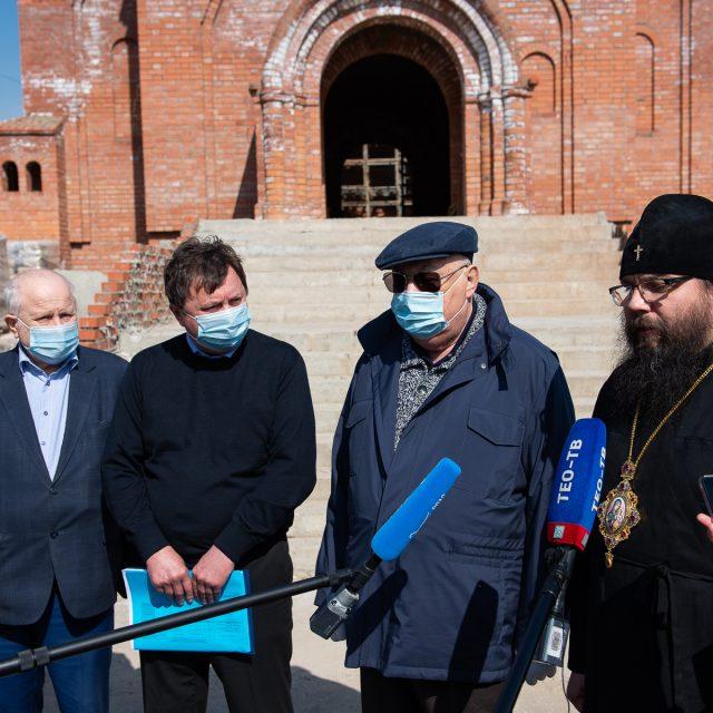 Архиепископ Егорьевский Матфей: Введение Казанского храма в Лосиноостровской в эксплуатацию станет важной вехой в истории района
