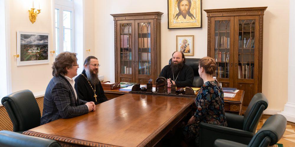 Состоялось совещание по вопросам реставрации храма Живоначальной Троицы при бывшем приюте Бахрушиных