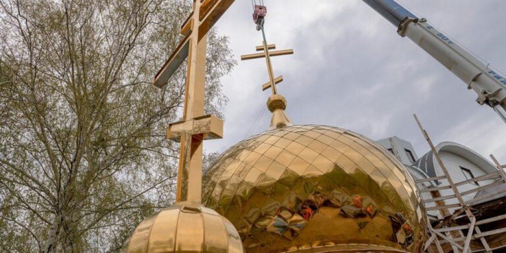 27 марта планируется совершить чин освящения крестов храма равноапостольных Мефодия и Кирилла в Ростокине