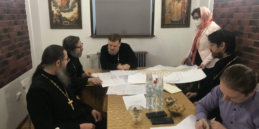 Проект иконостаса храма Живоночальной Троицы при бывшем приюте Бахрушиных одобрен Искусствоведческой комиссией