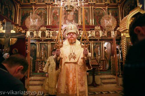 Божественная литургия в Медведкове