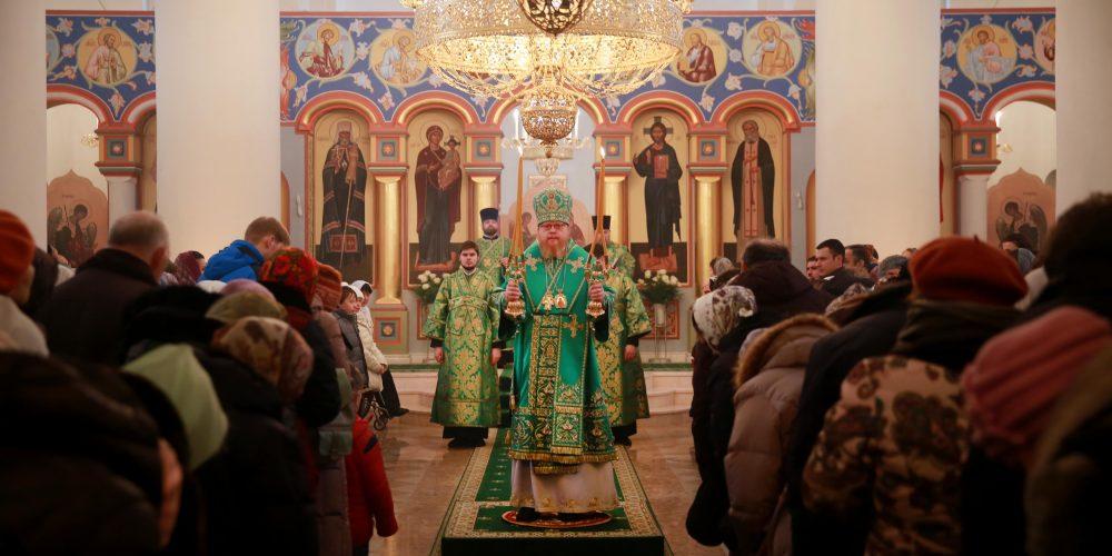 Престольный праздник в храме прп. Серафима Саровского в Раеве