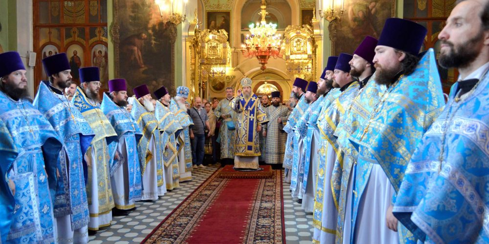 Престольный праздник  в храме Тихвинской Иконы Божией Матери в Алексеевском