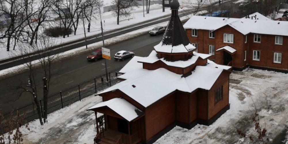 Малым чином освящен храм блаженной Ксении Петербургской в Останкине