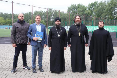 На стадионе «Свиблово» прошло выездное совещание по вопросам проведения епархиальных игр среди воскресных школ Москвы