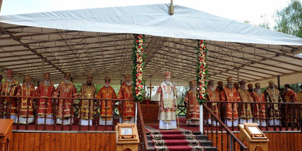 Литургия в праздник Собора новомучеников, в Бутове пострадавших