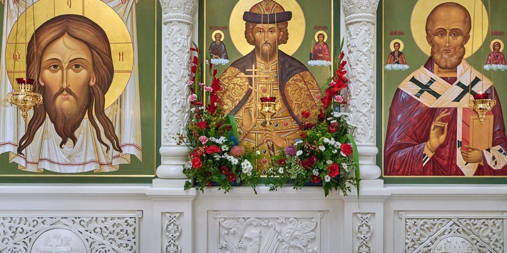 17 июля в храме святого благоверного князя Андрея Боголюбского на Волжском состоялся престольный праздник.