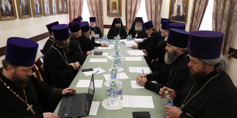 Состоялось заседание Совета Северо-Восточного и Юго-Восточного викариатств