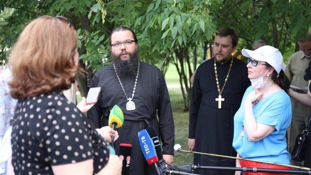 Архиепископ Егорьевский Матфей принял участие в объезде строящихся храмов Северо-Восточного викариатства
