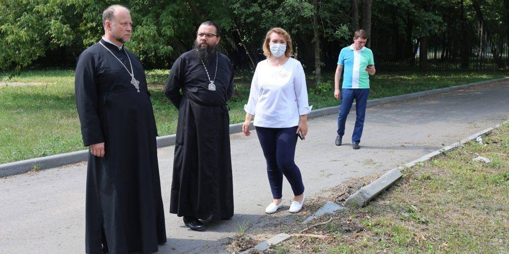 Архиепископ Матфей посетил Московский научно-практического центр медицинской реабилитации, восстановительной и спортивной медицины ДЗМ.
