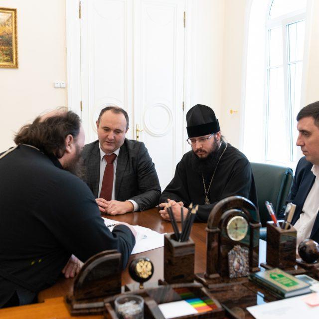 Председатель ФХУ провел рабочие совещания по вопросам проектирования и строительства нескольких храмов в Москве