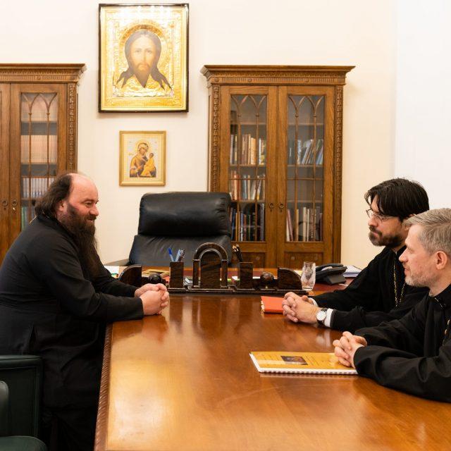Состоялось совещание по строительству храма Архистратига Божия Михаила в Архангельском-Тюрикове