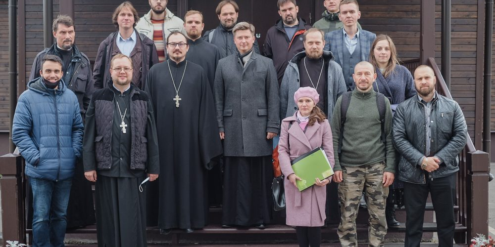 Состоялась встреча ответственного за молодежное служение по городу Москве протоиерея Кирилла Сладкова и молодежных лидеров северо-восточного викариатства