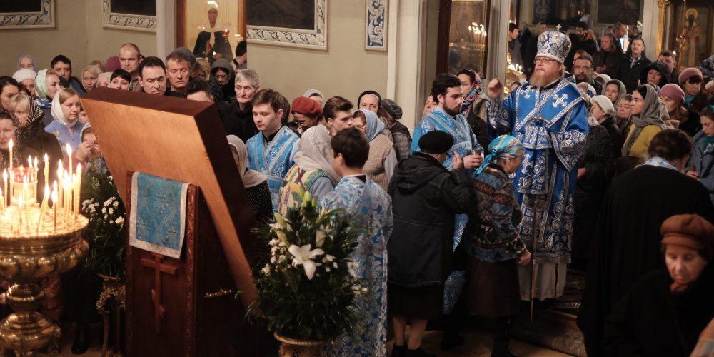 Всенощное бдение в канун Празднования Казанской иконы Божией Матери