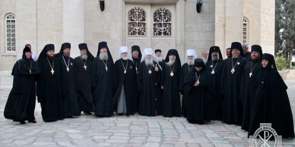 Первый день празднования 170-летия основания Русской Духовной Миссии в Иерусалиме
