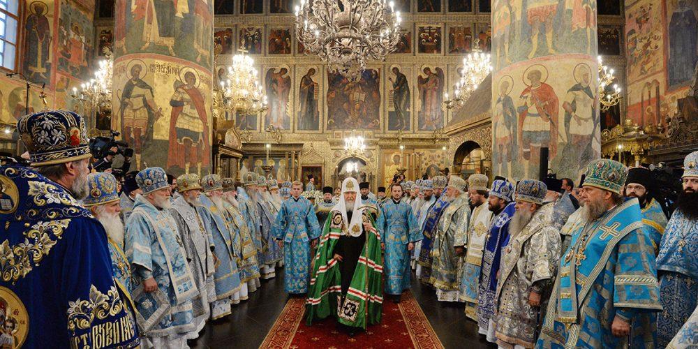 Божественная литургия в праздник Успения Богородицы