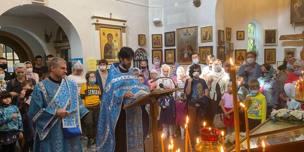 Молодежь храма иконы Божией Матери «Живоносный Источник» в Бибиреве провела «День знаний» для детей