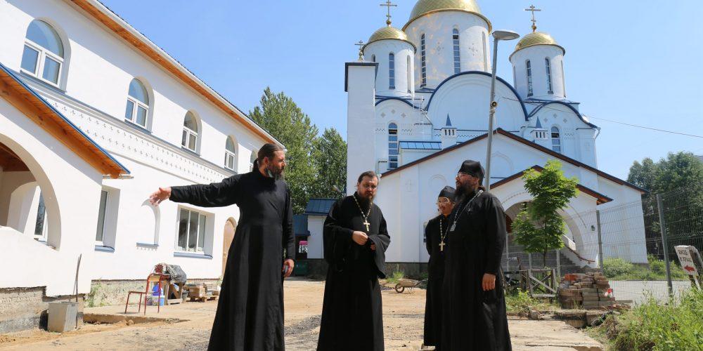 Состоялось выездное совещание по вопросу благоустройства территории храма Торжества Православия в Алтуфьево