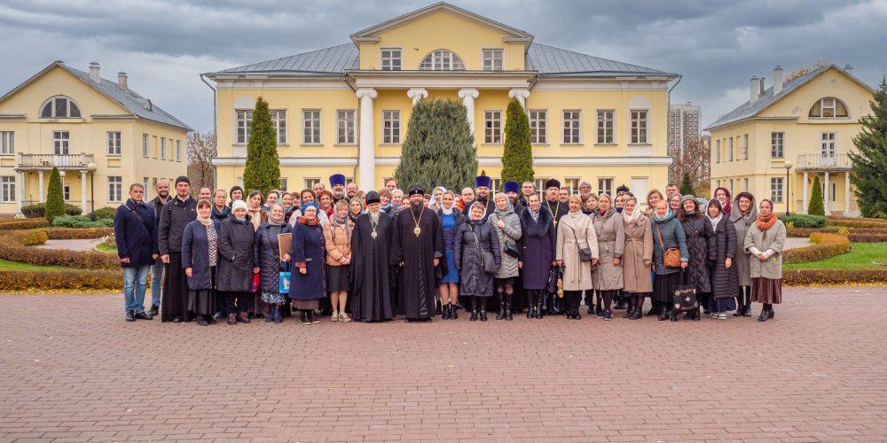 Состоялся Первый форум православных добровольцев Северо-Восточного и Юго-Восточного викариатств.