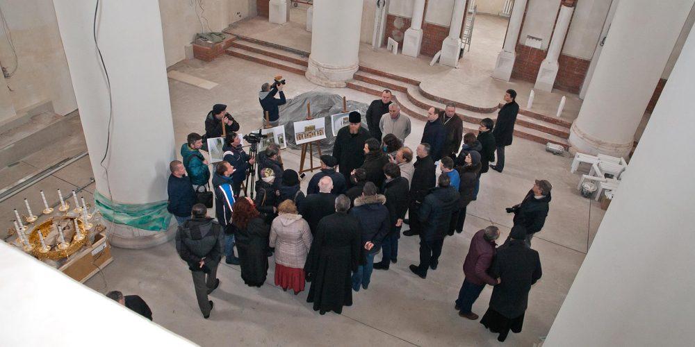 Выездное совещание по вопросам строительства православных храмов в СВАО