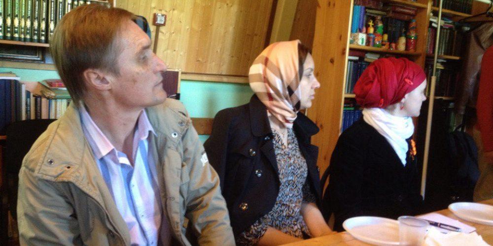 Встреча добровольцев социальной службы храма Рождества Пресвятой Богородицы во Владыкине