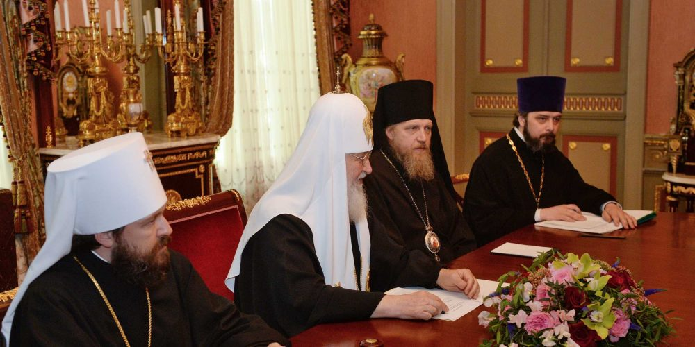 Епископ Домодедовский Иоанн принял участие во встрече Предстоятелей Русской и Сербской Церквей